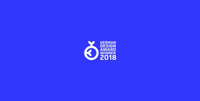 We won the German Design Award