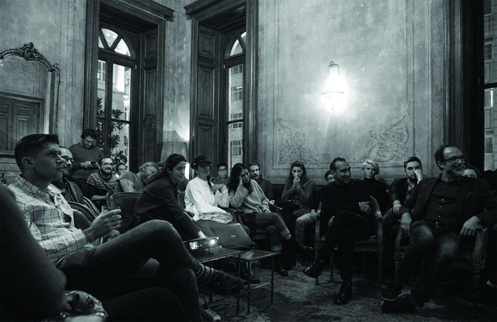 Offene Diskussion über das Schaffen von architektonischem Inhalt in kollektiver Hinsicht