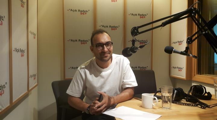 Derinbogaz was the guest on 'Açık Mimarlık'.