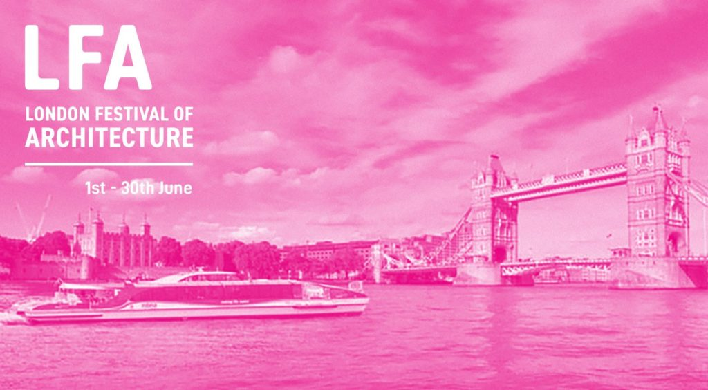 Derinbogaz participated in the 'London Festival of Architecture'