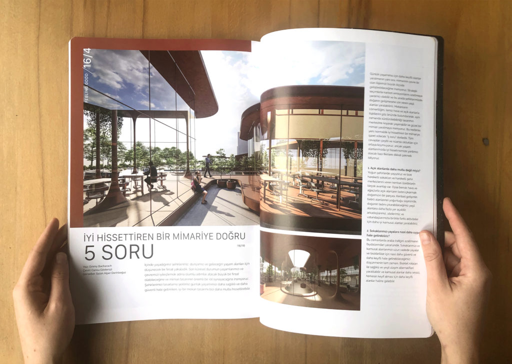 Hillsider published our article on 'Architecture for Feeling Good'