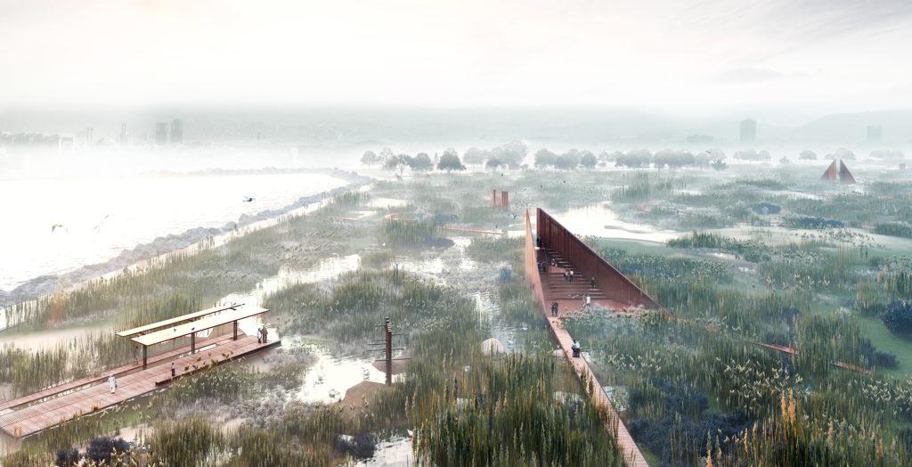 Meles River Urban Design Competition 1st Prize