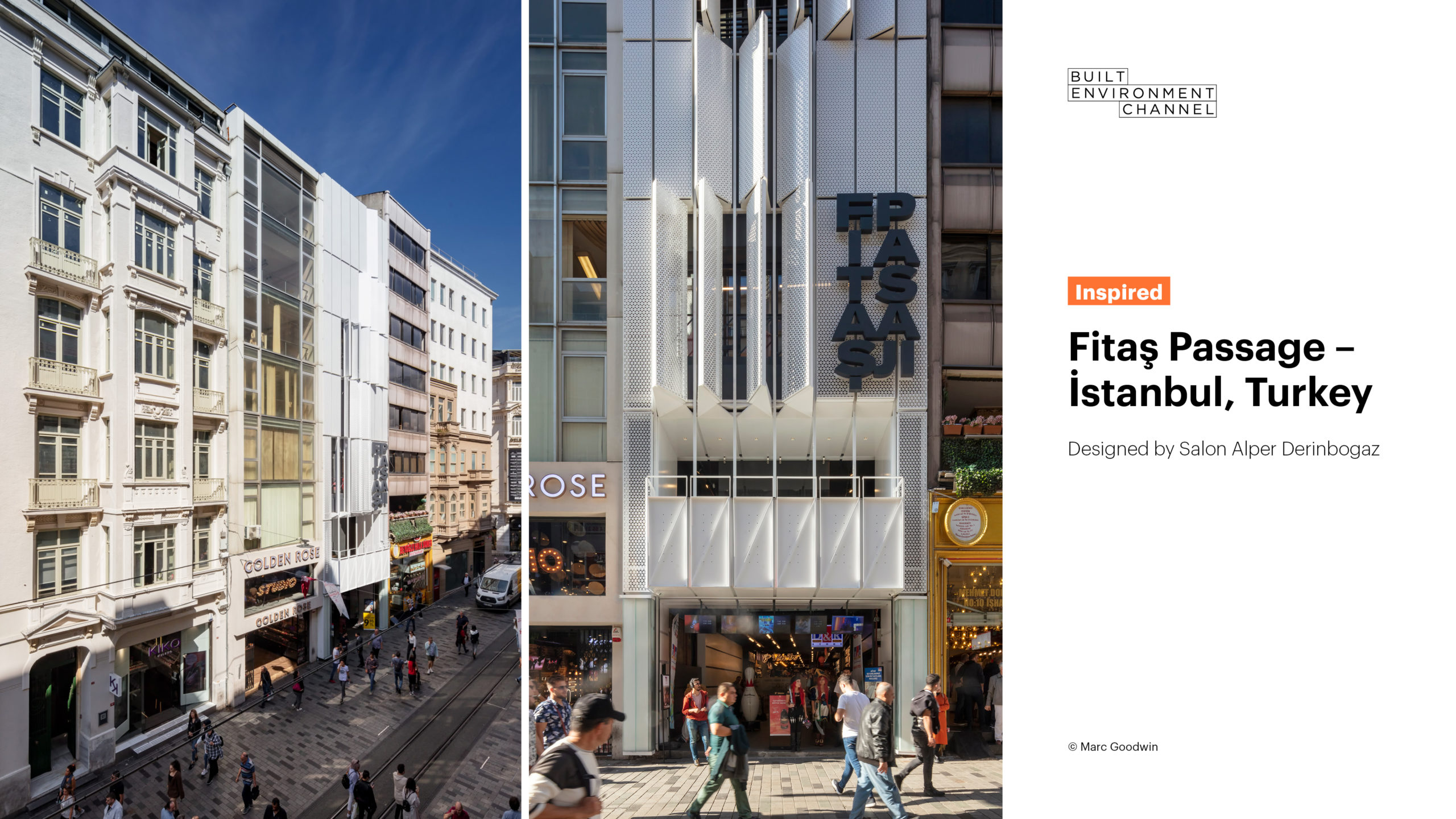 Fitas Passage shared on the Built Environment Channel in Australia